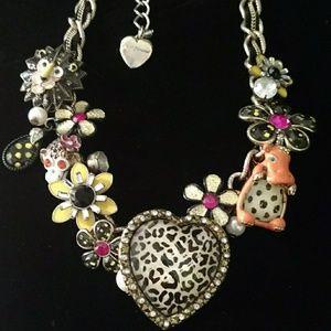 Spectacular Betsey Johnson Necklace